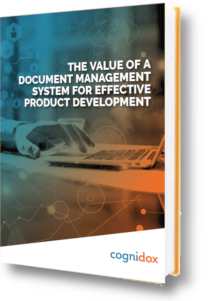 The value of a document management system for effective product development