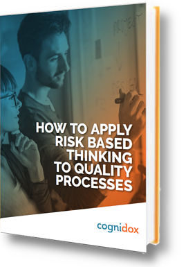 how to apply risk based thinking to quality process