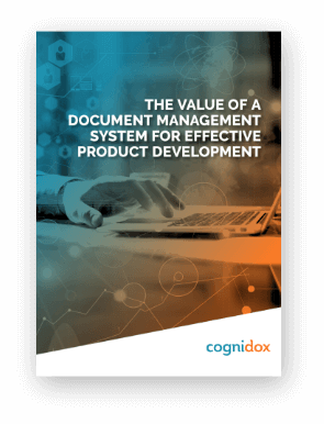 The value of a DMS for product development